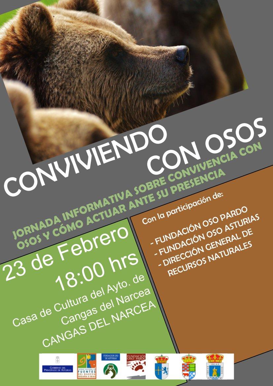 """""""Conviviendo con Osos"""", ciclo de charlas informativas en municipios oseros"""