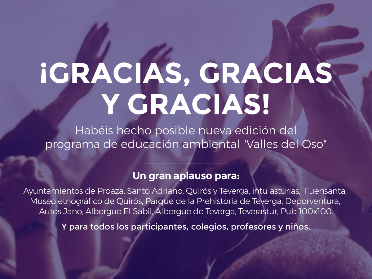 ¡Gracias por hacer nuestro sueño posible!