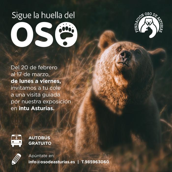 LA FOA E INTU ASTURIAS ORGANIZAN VISITAS GUIADAS PARA COLEGIOS POR LA EXPOSICIÓN
