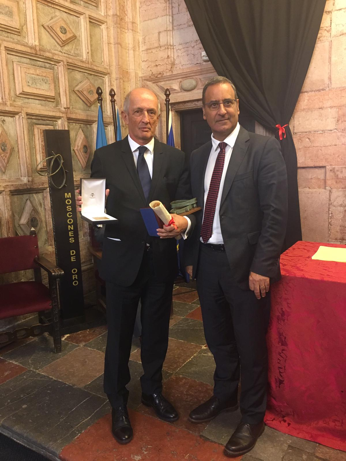 La fundación recogió el Moscón de Oro nacional e internacional