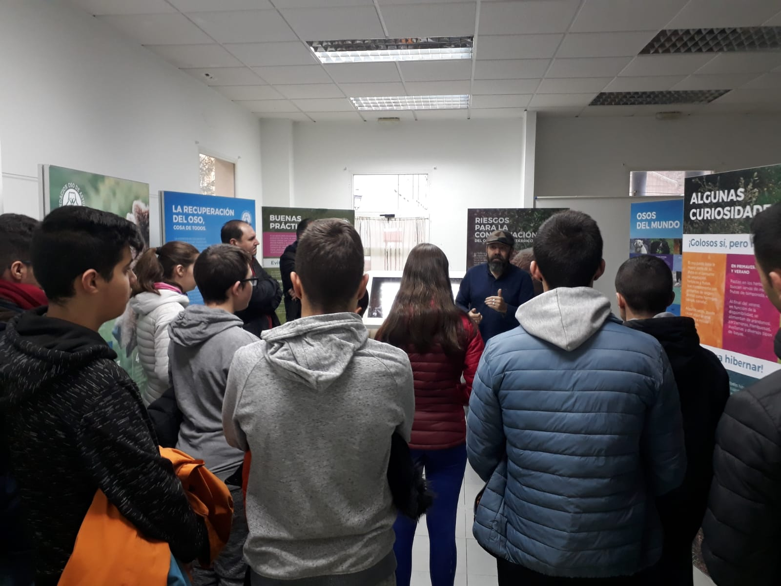 Degaña y Navelgas también acogieron la exposición 'Osos'