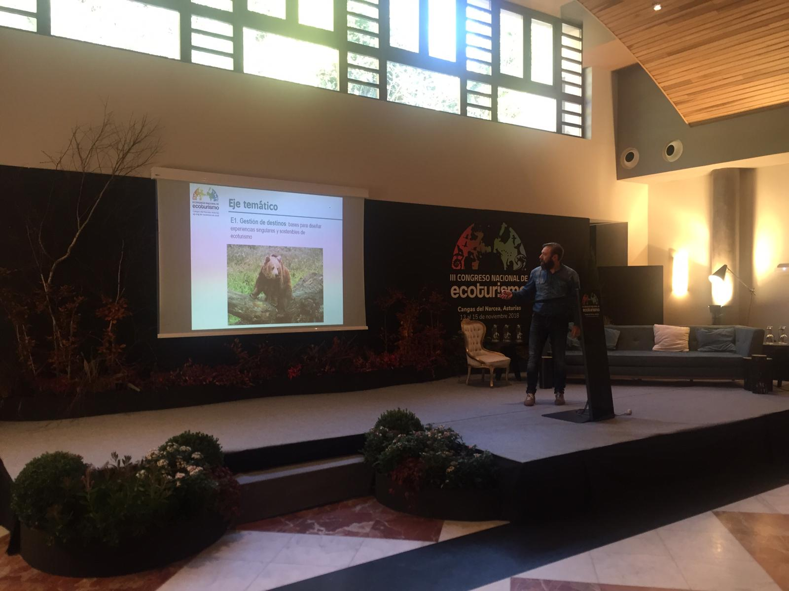 La FOA participó en el III Congreso Nacional de Ecoturismo de Cangas del Narcea