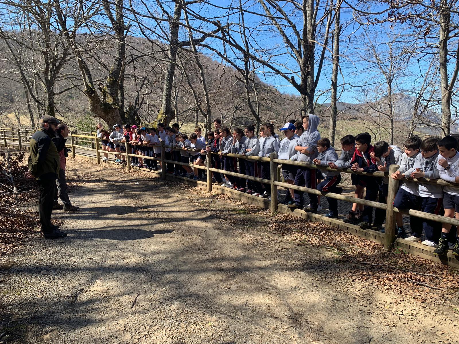 Los programas de educación ambiental de primavera concluyen con 3.700 participantes