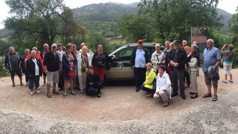 Cerca de 1.200 franceses visitaron las instalaciones de la fundación este año