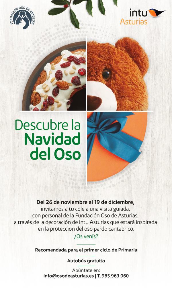 "intu Asturias celebra ""La Navidad del oso"""