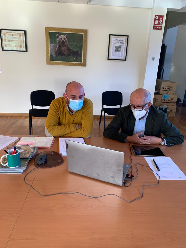 La Fundación Oso de Asturias fortalecerá su presencia en los espacios naturales protegidos en los próximos años