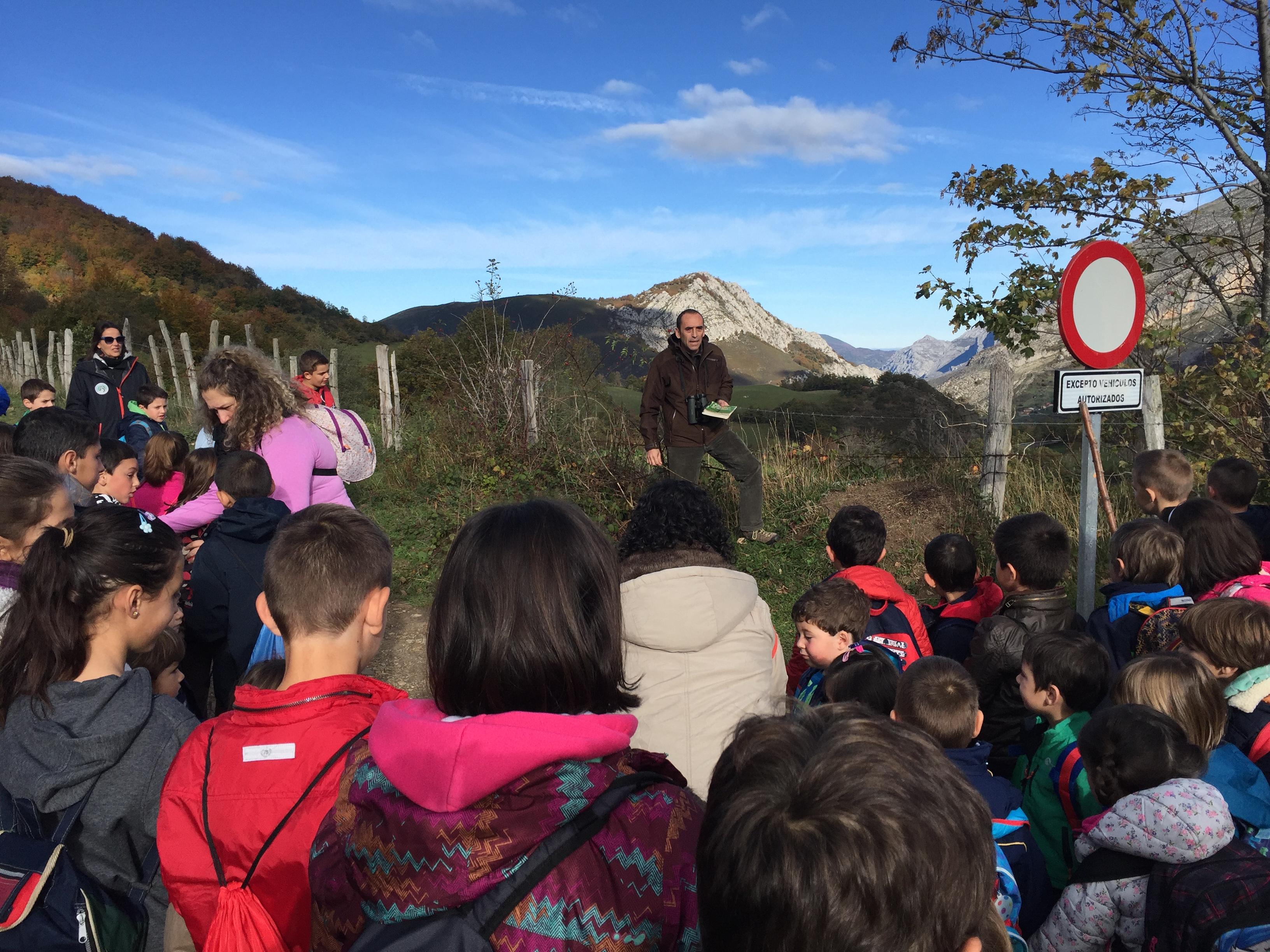 El Otoño con la Fundación Oso de Asturias